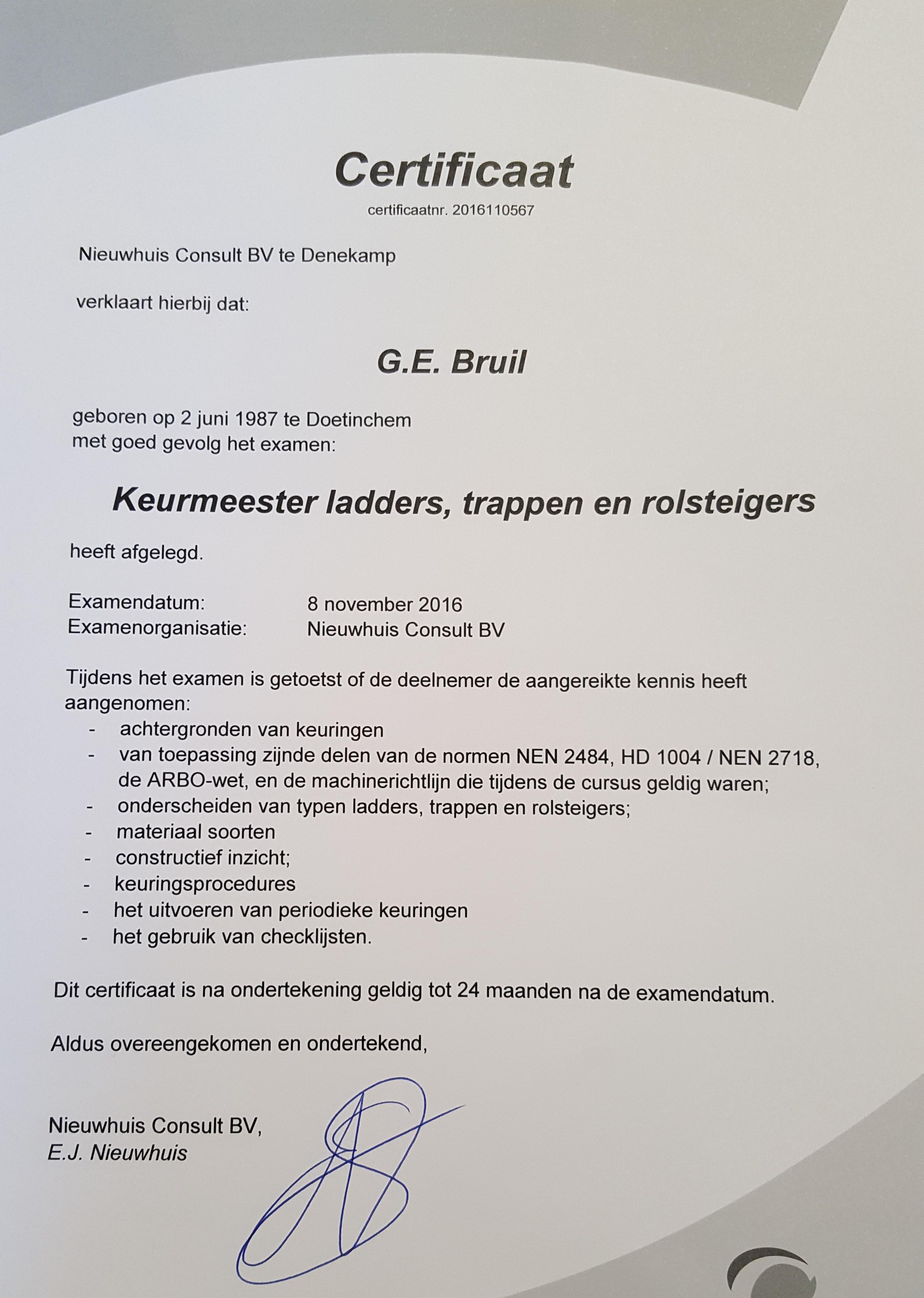 certificaat-keurmeester-ladders-trappen-en-rolsteigers